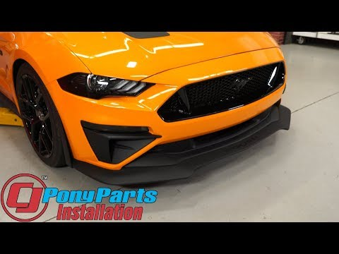 2018-2019 Mustang GT: High Flow Lower Grille and Chin Spoiler Install