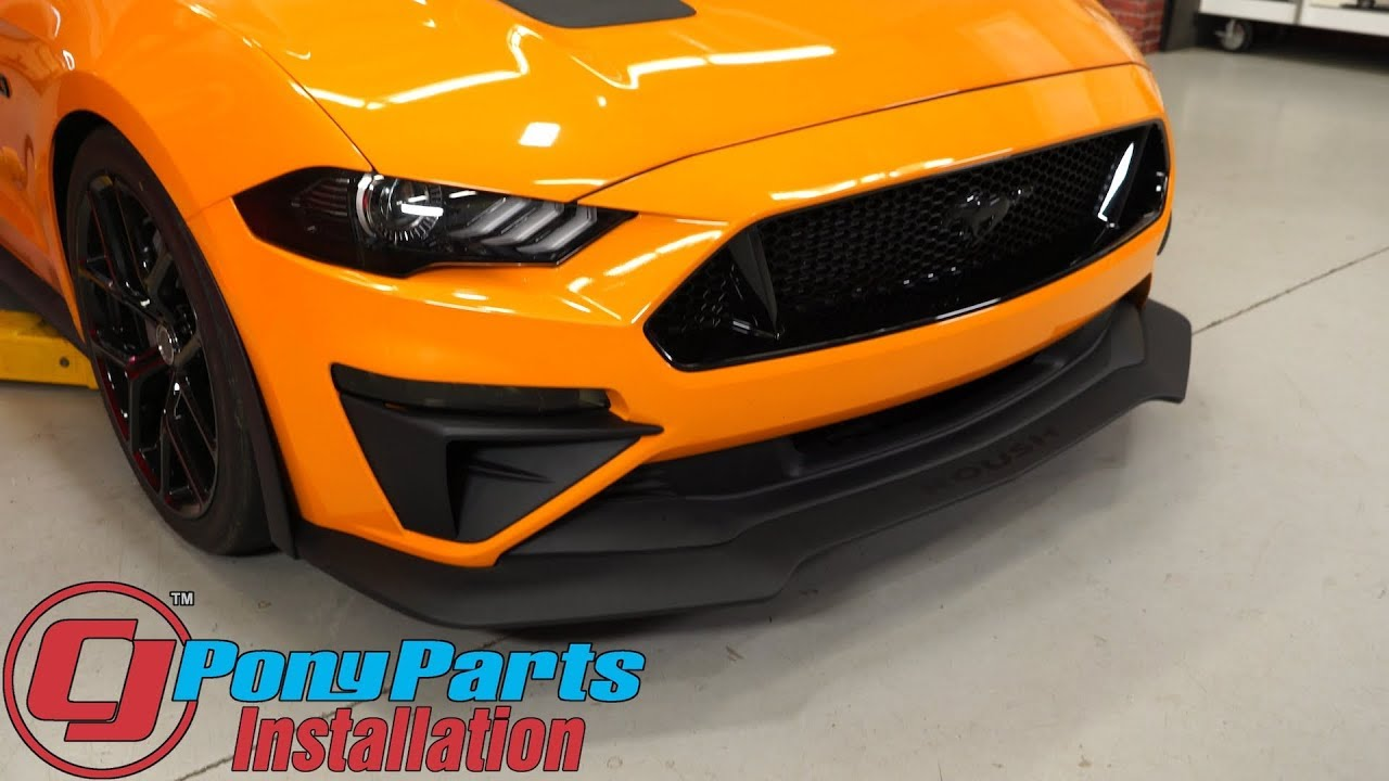 2018 2019 Mustang Gt High Flow Lower Grille And Chin