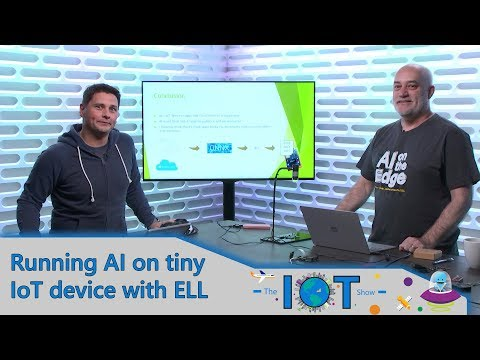AI running on Internet of Things Microcontrollers with ELL