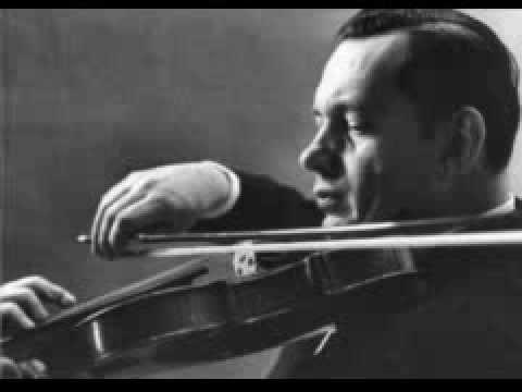 Tchaikovsky Violin Concerto Arthur Grumiaux ,Bogo Leskovic 1956