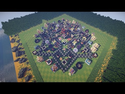 Clash of Clans in Minecraft! MAXED OUT BASE [w/Download]