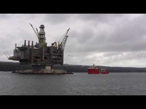 Hebron oil platform: FPT bolt tensioners in use
