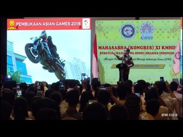 JOKOWI: 'Masa Presiden Suruh Jumping, Yaa Gilla Bro'. Sindiran Balik Jokowi Soal Stuntman,