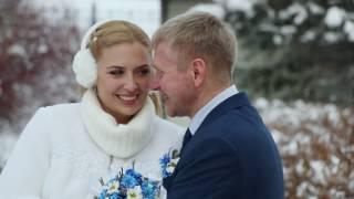 Зимняя свадьба в стиле БМВ