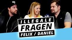 GZSZ-Stars DANIEL und FELIX erregt am Set?! - Illegale Fragen