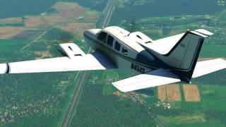 X Plane 11 + Ortho4XP + Reshade + Track IR (Bromont)