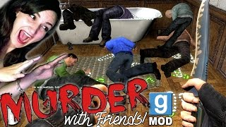 10 EPIC FAILS - Gmod Murder (Funny Moments) w/ Yammy, BBPaws, Smajor & Koil