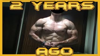 2 years ago (18 years muscle flexing) // Hace dos años