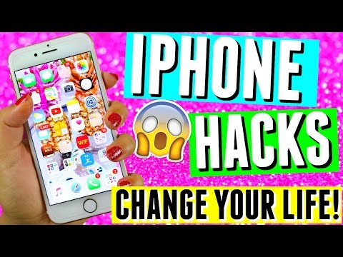 10 IPHONE LIFE HACKS & TRICKS YOU NEED TO KNOW 2016!!😱 IOS 10, Snapchat Hacks + Texting Hacks📱