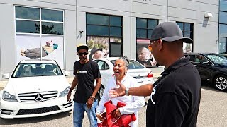 SURPRISING MOM WITH HER DREAM CAR... ***EMOTIONAL***