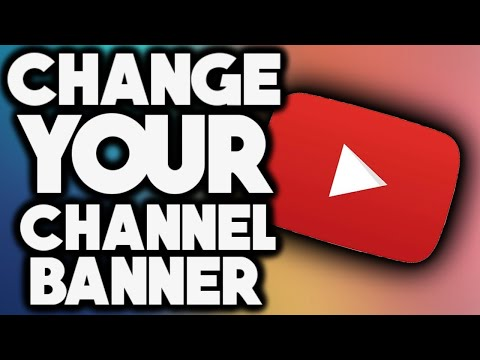 How To Change Your Youtube Banner (iOS / Android) (2019)