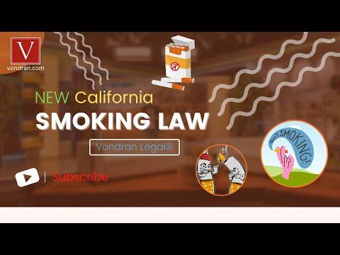 California landlord tenant new smoking law Civil Code 1947 5