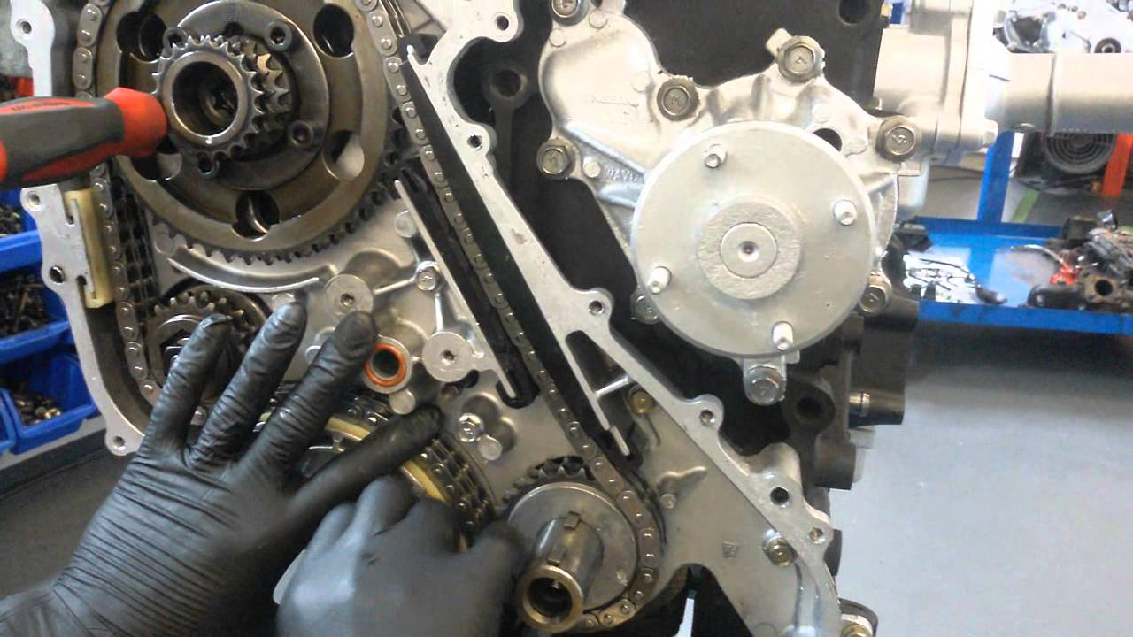 How to Fit Nissan Navara D40 Pathfinder Cabstar timing