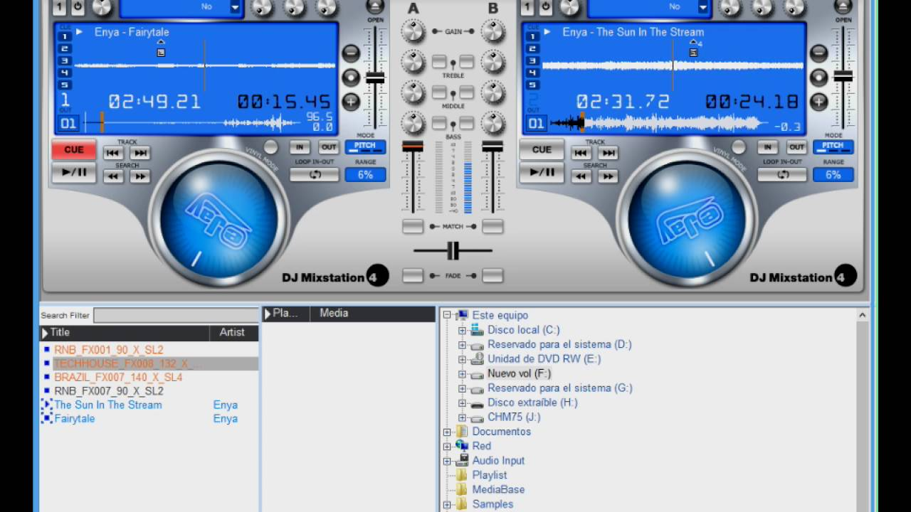 eJay DJ Mixstation 4 / MP3 Music / Product