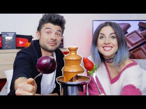 CHOCOLATE FONDUE CHALLENGE