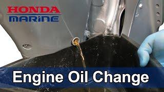 homepage tile video photo for Honda Marine DIY Engine Oil Change