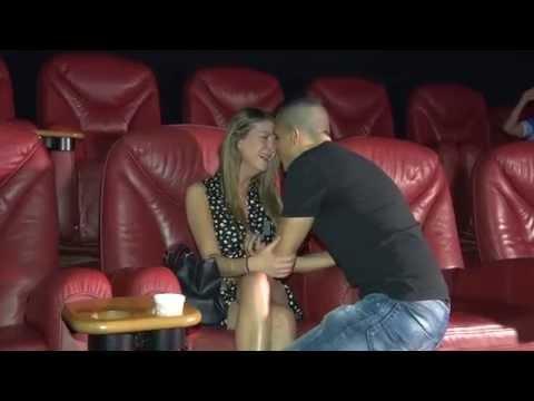 הצעה מהסרטים- הצעת נישואין מקורית בקולנוע- שגיא ושירלי (s&s)