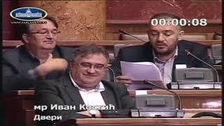 BOMBARDOVANJE PITANJIMA O VUČIĆU, SOROŠU, KOSOVU, RIJALITIJIMA..., Ivan Kostić pita vlastodršce