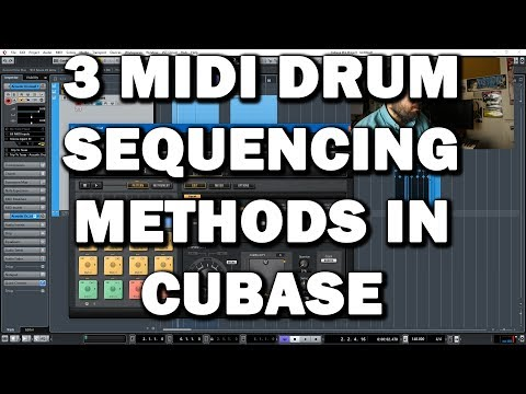 Cubase Tips and Tricks - 3 Drum MIDI Sequencing Methods for Acoustic (Organic) Drums