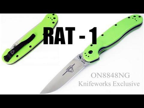 "Ontario Rat1 ""Venom Green"" (Jeff Randall) - Нож на все случаи жизни. Мини тест. Обзор Review"