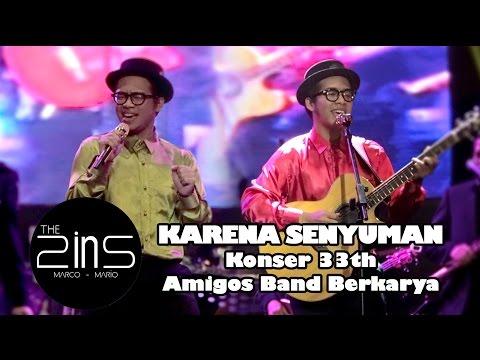 Konser 33th Amigos Band Berkarya - The 2ins - Karena Senyuman