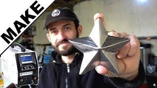 ► Étoile de noël en métal ! Première création au TIG 220 ac dc de GYS