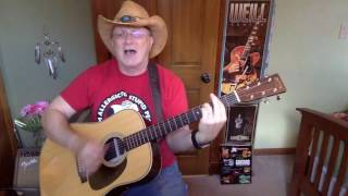 1506b -  Who's That Man -  Toby Keith vocal & acoustic guitar cover & chords