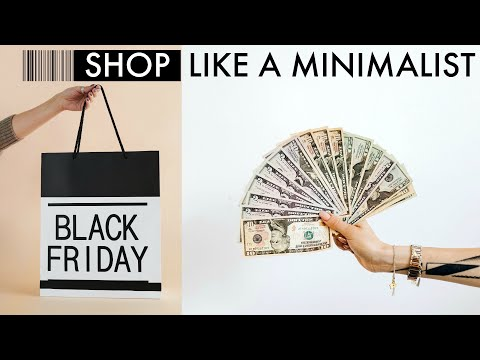 🛍️ HOW TO SHOP LIKE A MINIMALIST | 15 *SMART* Intentional Shopping Tips (HINT: Master Your 🧠 ASAP)