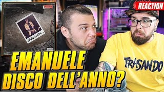 Geolier - EMANUELE  ( Disco completo ) * REACTION * Arcade Boyz