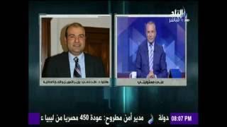 بالفيديو| وزير التموين عن إقامته بفندق: