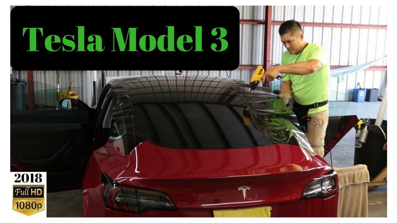 Tesla Model 3 Back Window