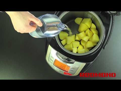 Рецепты от Redmond: Диетический картофель (RMC-M4502 Black)