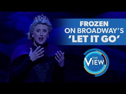 Frozen The Broadway Musical's Caissie Levy Performs 'Let It