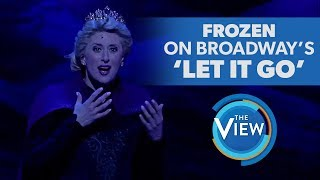 Download Frozen The Broadway Musical's Caissie Levy Performs 'Let It Go' Mp3 and Videos