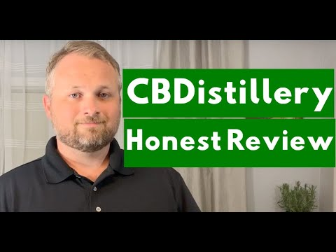 CBDistillery 1000 mg CBD Oil Review - After 6 Months of Daily Use