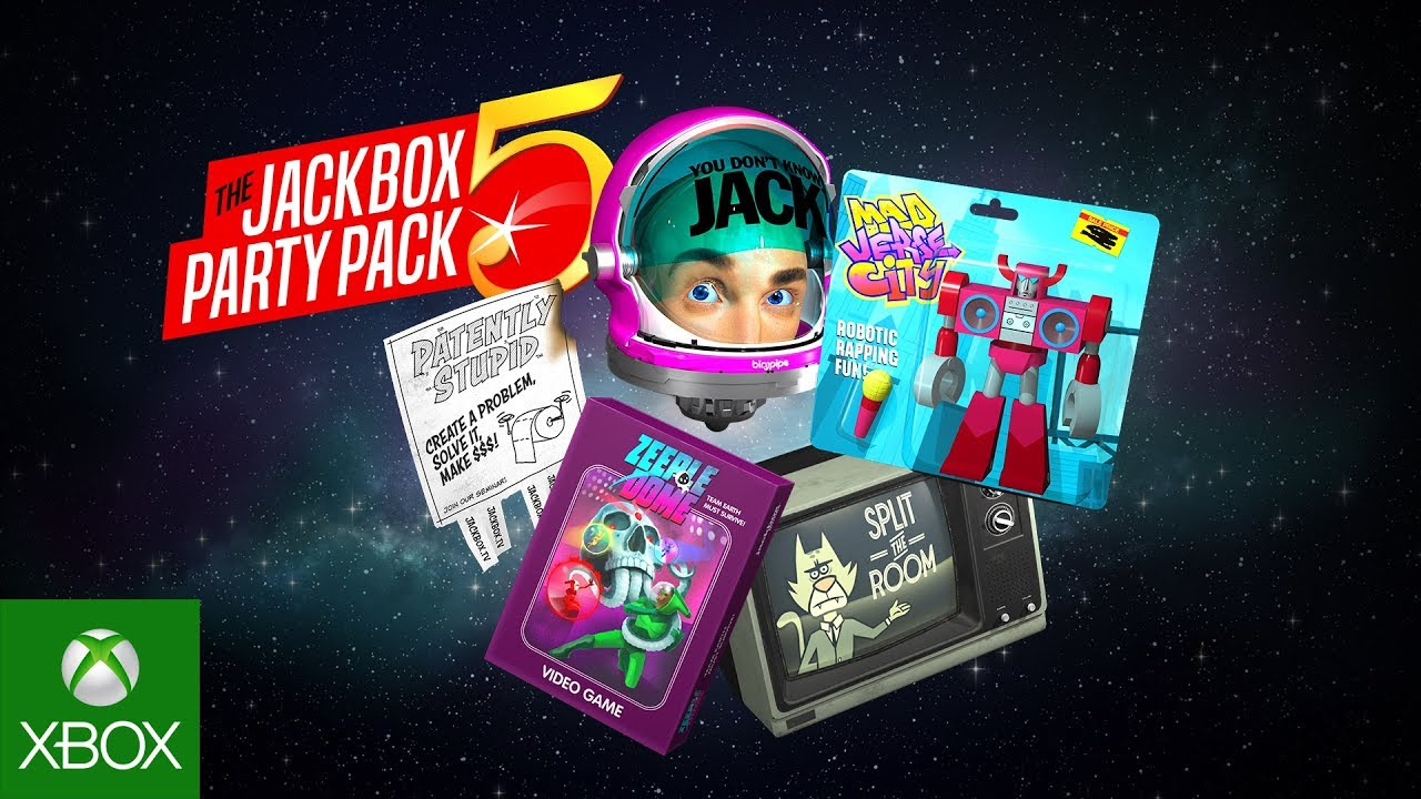 The Jackbox Party Pack 5 Official Trailer - YouTube