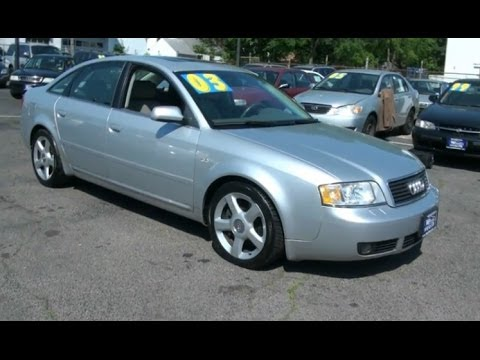 2003 Audi A6 2.7T Quattro Twin Turbo C5 Sedan - YouTube