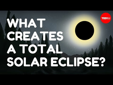 What Creates A Total Solar Eclipse? - Andy Cohen