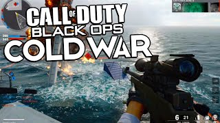 BLACK OPS COLD WAR ALPHA SNIPING GAMEPLAY