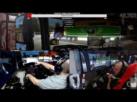 Euro Truck Simulator 2 with dad episode 11