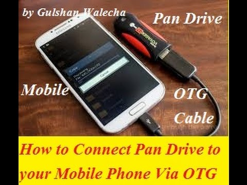 How To Connect Pen Drive To Android Phone Via OTG Cable Full Tutorial In Hindi!
