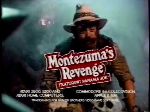 Montezuma's Revenge TV Commercial (1984)