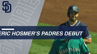 Hosmer's debut with the Padres in Spring Training