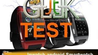 Inwatch smartwatch test par le JT Geek en Francais