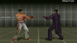 Tekken 6 - kazuya move list