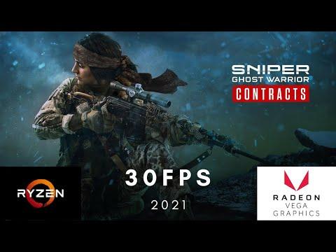 Sniper Ghost Warrior Contracts Ryzen 3 2200G 8GB Vega 8 |