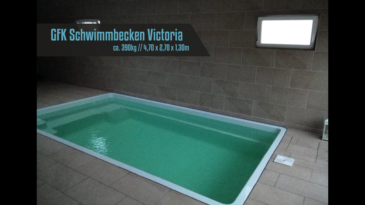 GFK Schwimmbecken - Fertig Schwimmbecken - Fertig Pool - Modell ...