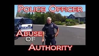 Police Officer: Abuse of Authority
