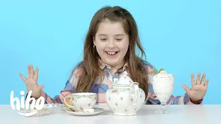 Kids Try British Recipes From the 1800s | HiHo Kids