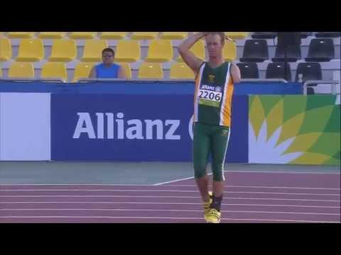 Men's javelin F46 | final |  2015 IPC Athletics World Championships Doha